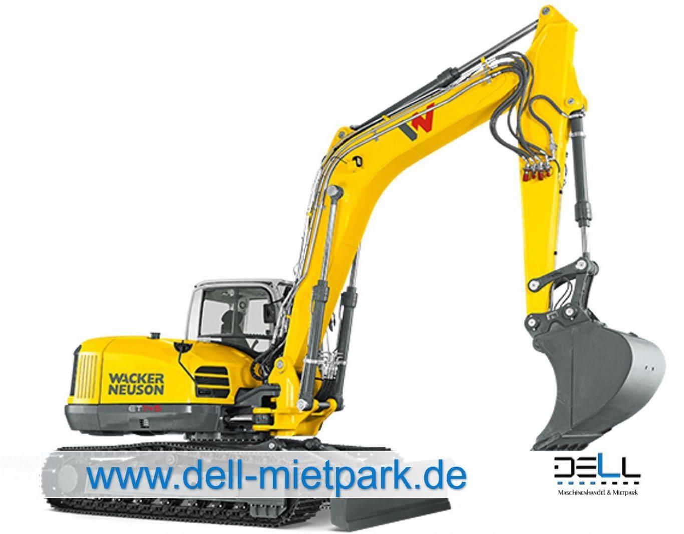 Image-1 - 14500kg Kettenbagger Wacker Neuson ET145
