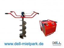 hydraulische 2-Mann Erdbohrer mit verschiedenen Erdbohrerdurchmesser