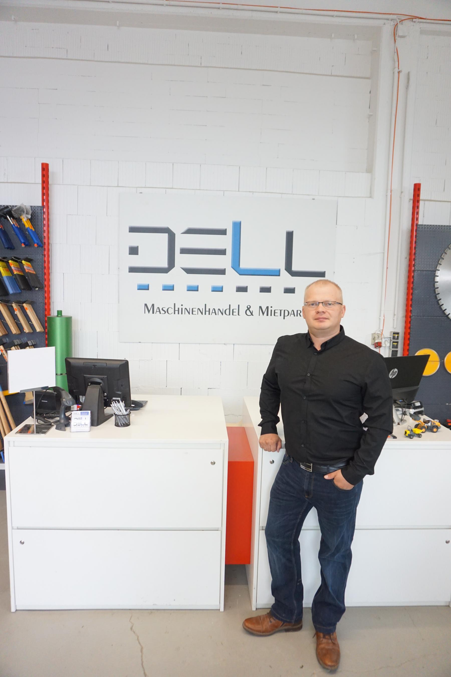 Geschäftsinhaber Eugen Dell Staatlich geprüfter Maschinenbautechniker